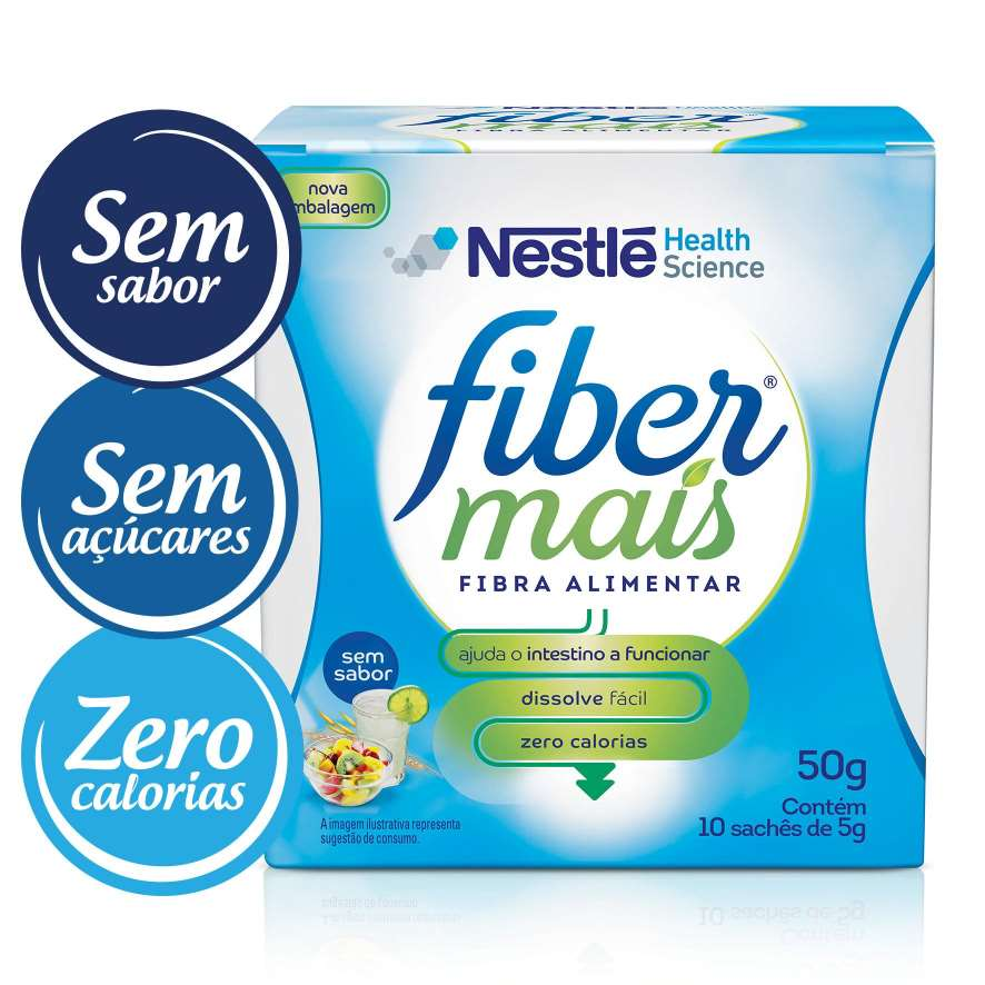 FIBERMAIS® Sem Sabor - Display front