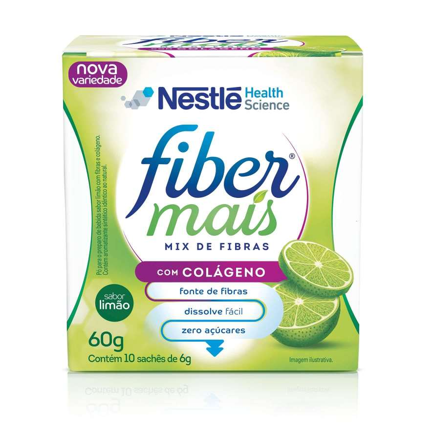 FIBERMAIS® Colágeno - Display front