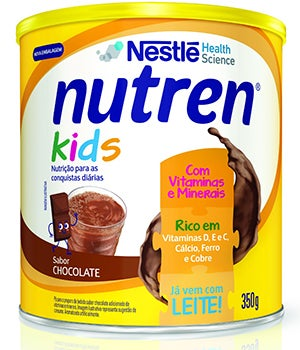 nutren kids 350g chocolate